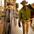 Christoph Waltz and Jamie Foxx in a scene from Django Unchained.