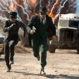 A scene from The Green Hornet.