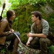 Katniss (Jennifer Lawrence) and Gale (Liam Hemsworth).