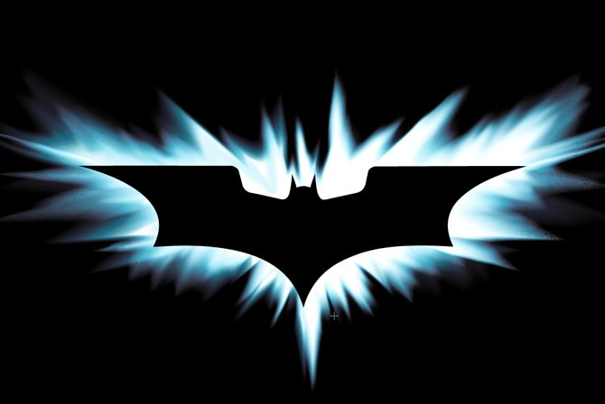 the dark knight batman logo