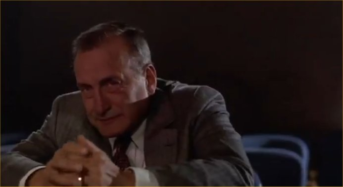George C. Scott really...